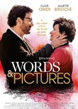 Words and Pictures – deutsches Filmplakat – Film-Poster Kino-Plakat deutsch