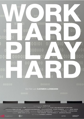 Work Hard – Play Hard – deutsches Filmplakat – Film-Poster Kino-Plakat deutsch