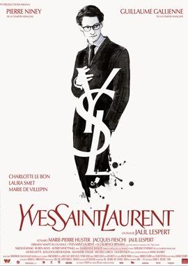 Yves Saint Laurent – deutsches Filmplakat – Film-Poster Kino-Plakat deutsch