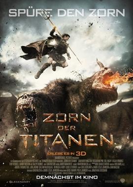 Zorn der Titanen – deutsches Filmplakat – Film-Poster Kino-Plakat deutsch