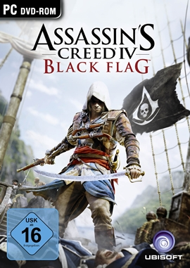 Assassin's Creed 4 – Black Flag – deutsches Filmplakat – Film-Poster Kino-Plakat deutsch