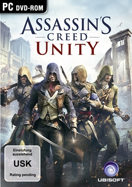 Assassin's Creed Unity – deutsches Filmplakat – Film-Poster Kino-Plakat deutsch