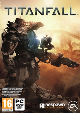 Titanfall – deutsches Filmplakat – Film-Poster Kino-Plakat deutsch
