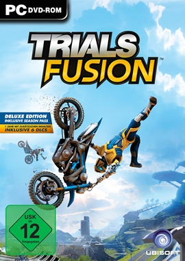 Trials Fusion – deutsches Filmplakat – Film-Poster Kino-Plakat deutsch