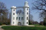 Lustschloss Pfaueninsel Berlin-Zehlendorf Burg_Schloss Deutschland Ausflugsziele Freizeit Urlaub Reisen