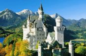 Schloss Neuschwanstein Hohenschwangau Burg_Schloss Deutschland Ausflugsziele Freizeit Urlaub Reisen