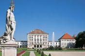 Schloss Nymphenburg München Burg_Schloss Deutschland Ausflugsziele Freizeit Urlaub Reisen