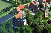 Wasserschloss Raesfeld Burg_Schloss Deutschland Ausflugsziele Freizeit Urlaub Reisen