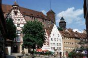 Stadtansicht Nürnberg Bayern Deutschland - Urlaub Reisen Tourismus