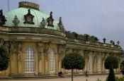 Schloss Sanssouci Potsdam Brandenburg Deutschland - Urlaub Reisen Tourismus