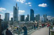 Skyline Frankfurt/Main Hessen Deutschland - Urlaub Reisen Tourismus