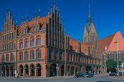 Altes Rathaus und Marktkirche Hannover Niedersachsen Deutschland - Urlaub Reisen Tourismus