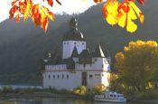 Rhein bei Kaub Rheinland-Pfalz Deutschland - Urlaub Reisen Tourismus