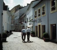 Saarland: Fröschengasse, Altstadt Saarbrücken - © Tourismus-Zentrale Saarland