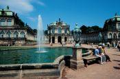 Zwinger Dresden Sachsen Deutschland - Urlaub Reisen Tourismus
