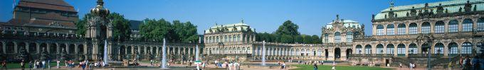 Sachsen: Dresden, Innenhof des Zwingers, UNESCO-Welterbe - © Rainer Kiedrowski/DZT