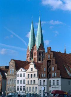 Schleswig-Holstein: Lübeck/Ostsee, Türme der Marienkirche - © Norbert Krüger/DZT