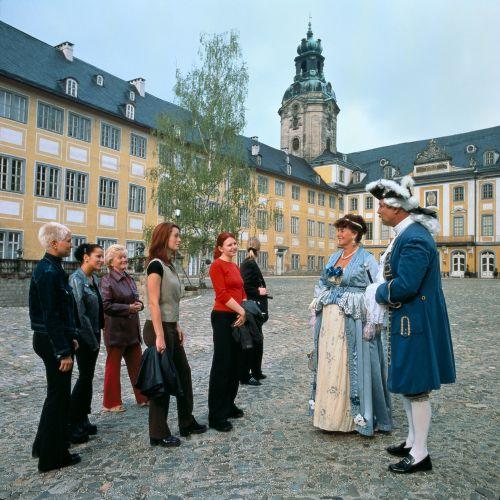 Thüringen: Schloss Heidecksburg in Rudolstadt - © Thüringer Tourismus GmbH