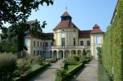 Botanischer Garten der Alten Anatomie Ingolstadt Park Deutschland Ausflugsziele Freizeit Urlaub Reisen