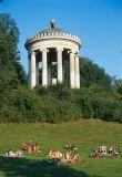 Monopteros-Tempel Englischer Garten München - © Rainer Kiedrowski