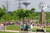 Neuland-Park Leverkusen Park Deutschland Ausflugsziele Freizeit Urlaub Reisen