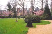 Park von Schloss Moyland Bedburg-Hau Park Deutschland Ausflugsziele Freizeit Urlaub Reisen