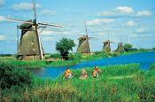 Kinderdijk Niederlande Holland - Urlaub Reisen Tourismus
