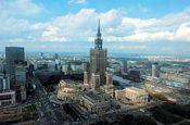 Kulturpalast Warschau Polen - Urlaub Reisen Tourismus