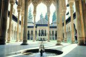 La Alhambra Granada Spanien - Urlaub Reisen Tourismus