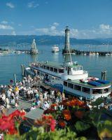 Hafen Lindau Bodensee Deutschland