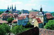 Altstadt von Bamberg Bamberg Welterbestätte Deutschland Ausflugsziele Freizeit Urlaub Reisen