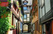 Stiftskirche, Schloss und Altstadt Quedlinburg Welterbestätte Deutschland Ausflugsziele Freizeit Urlaub Reisen