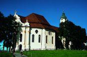 Wallfahrtskirche »Die Wies« Pfaffenwinkel/Steingaden Welterbestätte Deutschland Ausflugsziele Freizeit Urlaub Reisen